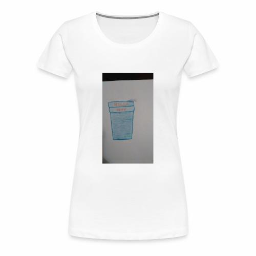 Purple acti - Women's Premium T-Shirt