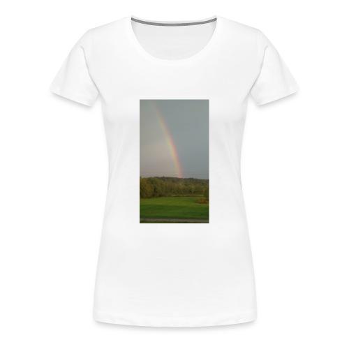 Rainbow in the Mist - Women's Premium T-Shirt