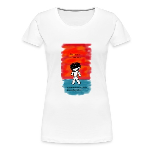 Digiorno Nintonde - Women's Premium T-Shirt