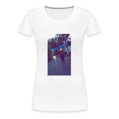 Yvng.wolfe Street Pic - Women's Premium T-Shirt