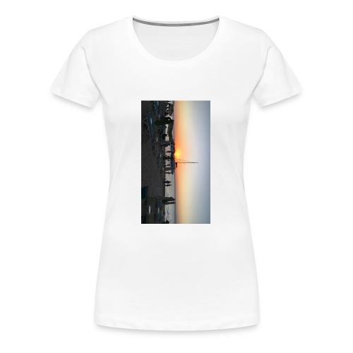 Sunset Admiration - Women's Premium T-Shirt