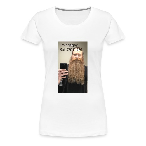 Bearded Homosexual - Women's Premium T-Shirt