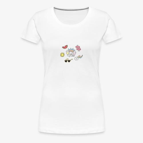 nice love logo - Women's Premium T-Shirt
