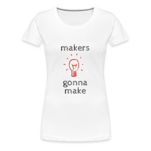 The makers Mark - Women's Premium T-Shirt