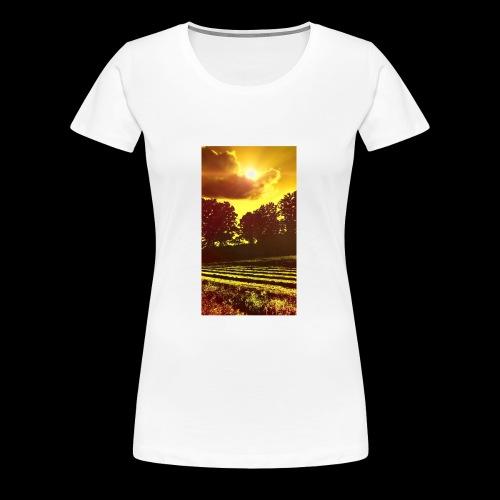 Sunset Paradise - Women's Premium T-Shirt