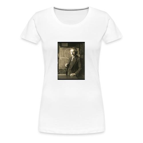 Professor Einstein - Women's Premium T-Shirt