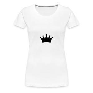 KING CROWN - Women's Premium T-Shirt