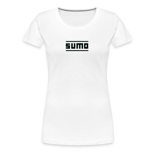 Sumo Text (Black) - Women's Premium T-Shirt