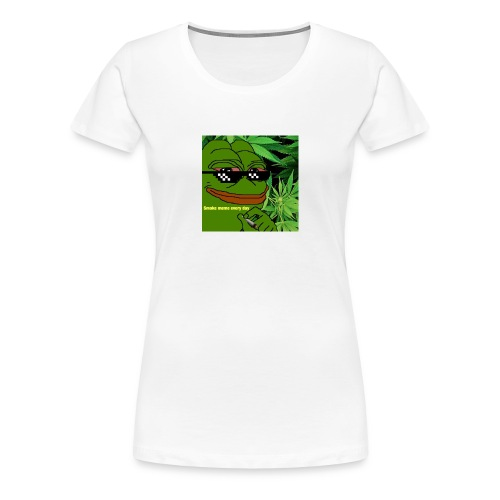 Smoke meme - Women's Premium T-Shirt