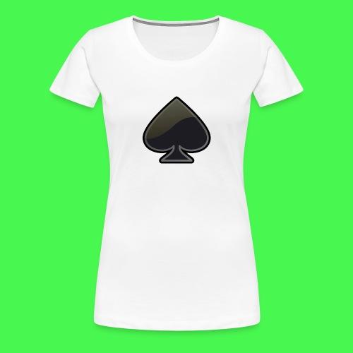 spade-304399_640 - Women's Premium T-Shirt