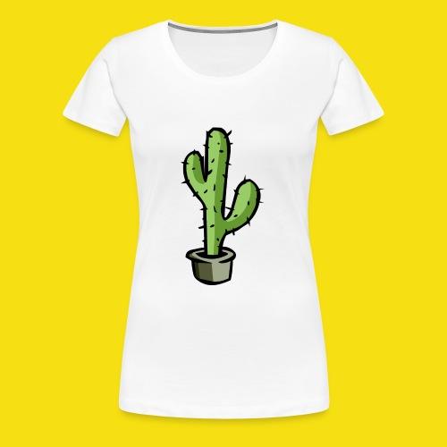 Prickly Cactus - Women's Premium T-Shirt
