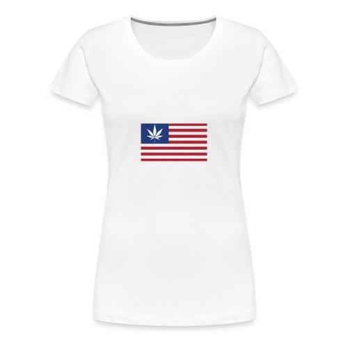 american-weed - Women's Premium T-Shirt
