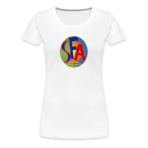 The Spirit Field Adventures: Spark By: Adam Hitz - Women's Premium T-Shirt