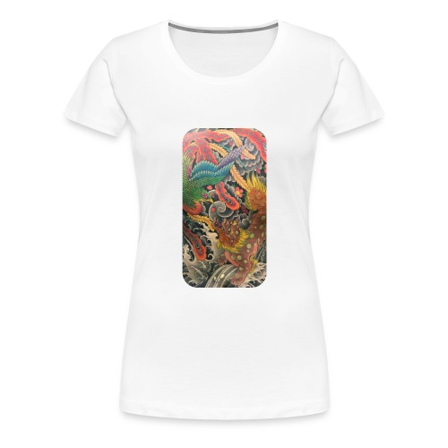 Japanese art - Women's Premium T-Shirt