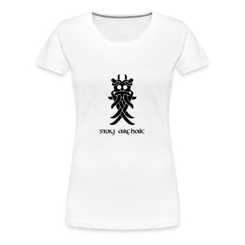 Odin's Mask - Women's Premium T-Shirt