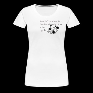 An Excerpt from a Piece of Poetry by ga. la. - Women's Premium T-Shirt