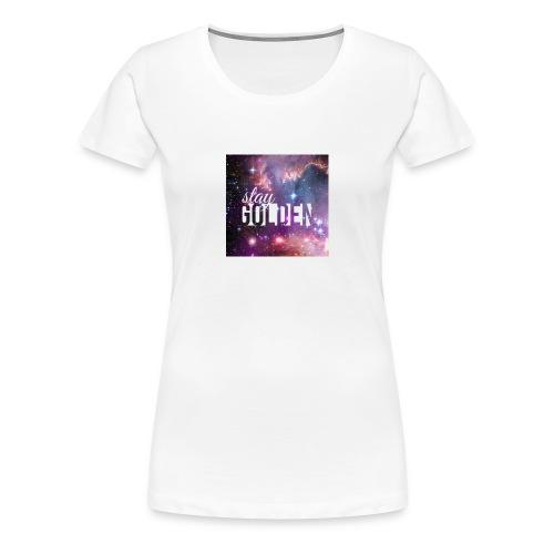 Stay golden - Women's Premium T-Shirt