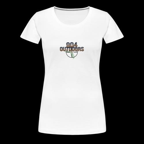 White Logo Shirts - Women's Premium T-Shirt