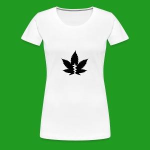 Medical Leaf - Women's Premium T-Shirt