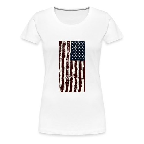 Hanging Flag - Women's Premium T-Shirt
