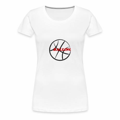 Balling shirt - Women's Premium T-Shirt