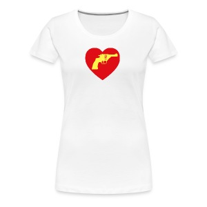 Heart 38 Spec. - Women's Premium T-Shirt