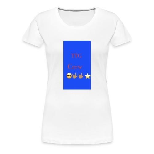 TTG crew - Women's Premium T-Shirt