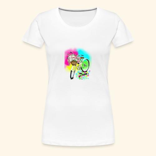 SUMMER CYCLE - Women's Premium T-Shirt