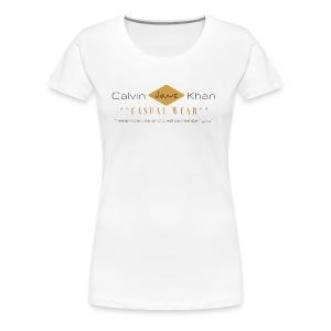Black and Pink Tree Heart Beauty Logo 1 - Women's Premium T-Shirt