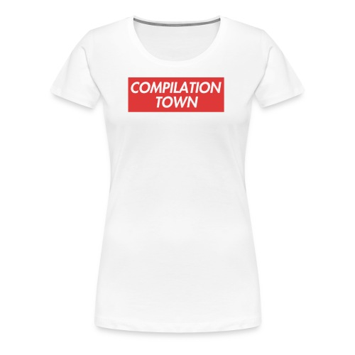 Compilation Town Supreme Parody Merch - Women's Premium T-Shirt