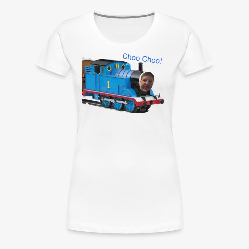 Matthew Choo Choo Thomas - Women's Premium T-Shirt