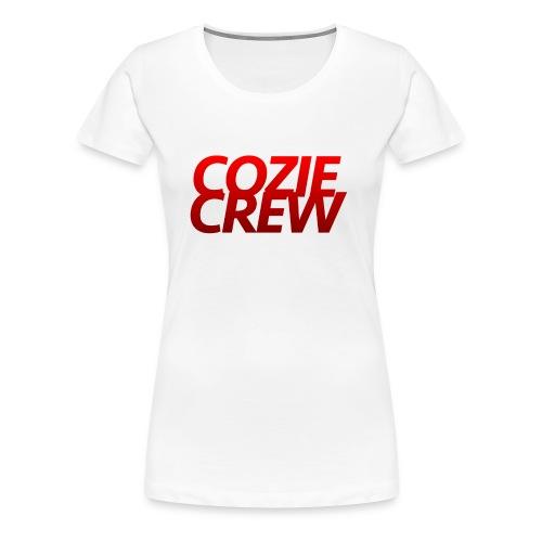 COZIECREW - Women's Premium T-Shirt
