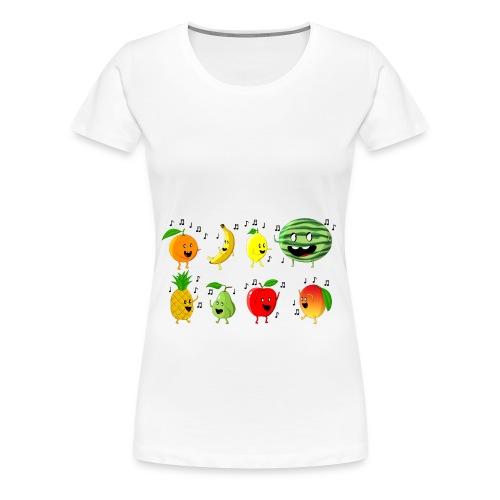 Dancing Fruit Party - Women's Premium T-Shirt