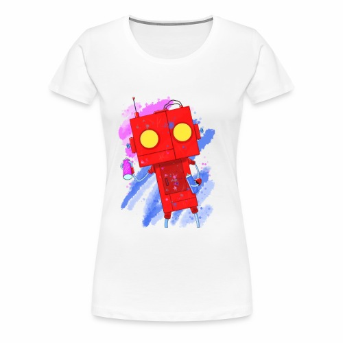 Art Robot - Women's Premium T-Shirt