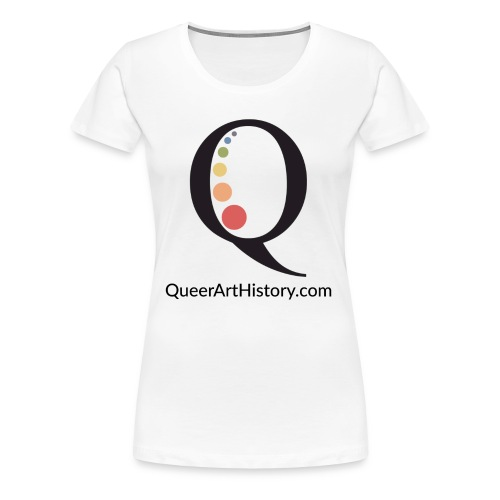 Queer Art History Q logo - Women's Premium T-Shirt