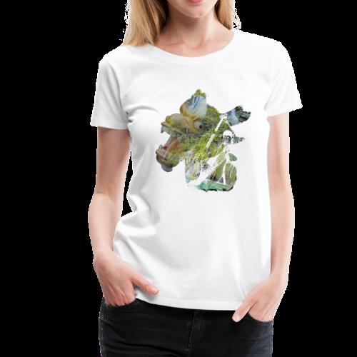 Dragon boat is better - Women's Premium T-Shirt