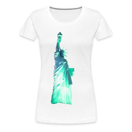Statue of Liberty - Women's Premium T-Shirt