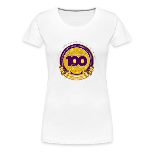 ONFJ Centennial Medallion - Women's Premium T-Shirt