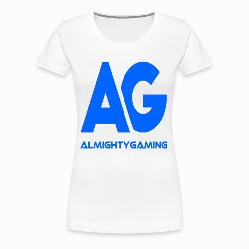 AlmightyGaming (Blue Edition!) - Women's Premium T-Shirt