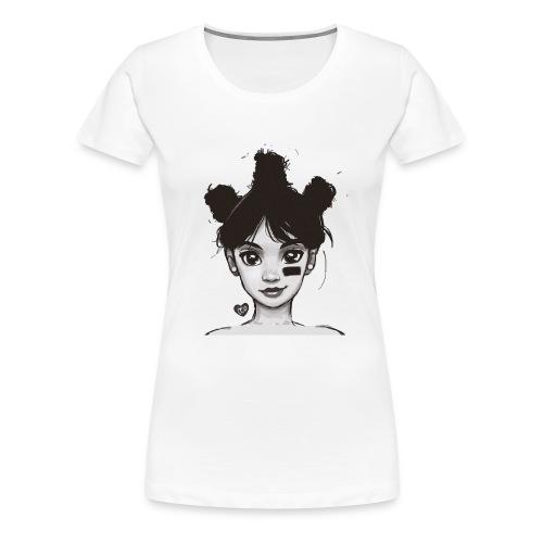 LEFT EYE ART - Women's Premium T-Shirt