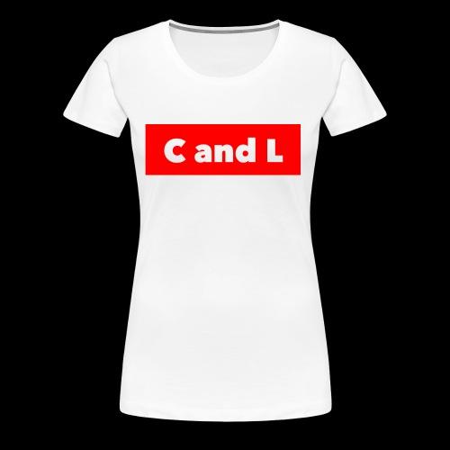 C and L Red Box - Women's Premium T-Shirt