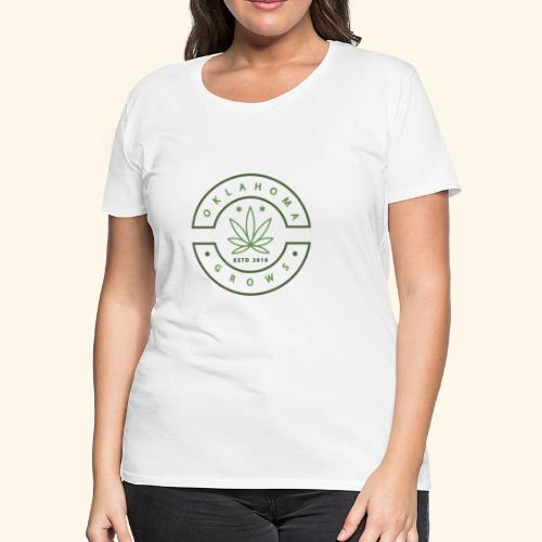 Oklahoma Grows - Women's Premium T-Shirt