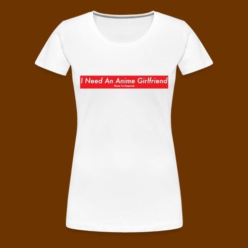 Anime Girlfriend - Women's Premium T-Shirt
