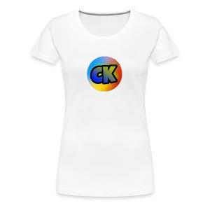 Official Cedar Klutz Logo - Women's Premium T-Shirt