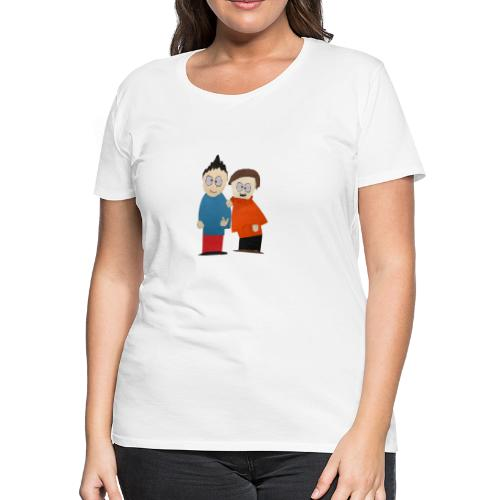 Mark and Milton! - Women's Premium T-Shirt