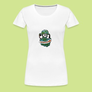 Earth Face - Women's Premium T-Shirt