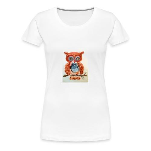 Ruby Woot Owl - Women's Premium T-Shirt