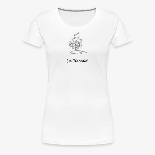 Flaming Topiary - Women's Premium T-Shirt