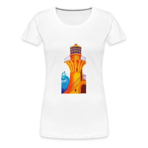 Golden Light - Women's Premium T-Shirt