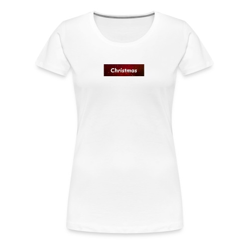 Christmax Box Logo - Women's Premium T-Shirt